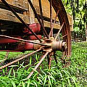 The Wagon Wheel Art Print