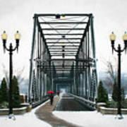 The Walking Bridge Art Print