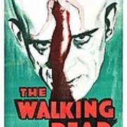 The Walking Dead Poster Art Print