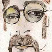 The Walrus As John Lennon Art Print by Mark M  Mellon