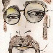 The Walrus As John Lennon Art Print
