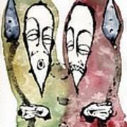 The Warriors Three Art Print