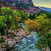 The Watchman At Sunrise Art Print