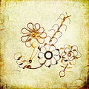 The Watchmans Flower Art Print