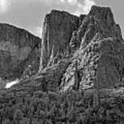209619-bw-the Watchtower, Wind Rivers Art Print
