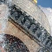 The Water Droplets From The Fountain At The Hagia Sophia Turkey Art Print