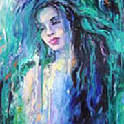 The Water Art Print by Nelya Shenklyarska