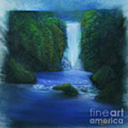 The Waterfall Art Print