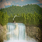 The Waterfall... Art Print