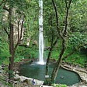 The Waterfalls Art Print