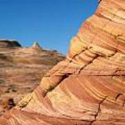 'the Wave' North Coyote Buttes 13 Art Print