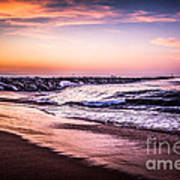 The Wedge Newport Beach California Picture Art Print by Paul Velgos