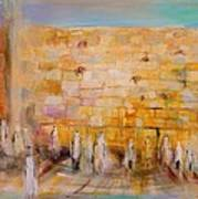 The Western Wall Art Print