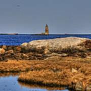 The Whaleback Lighthouse Art Print