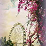 The Wheel Of Brisbane Art Print