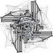 The Wheel Of Time Turns Art Print