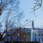 The White House 1 Art Print