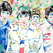 The Who - Watercolor Portrait Art Print