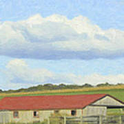 The Whole Farm To Himself Art Print