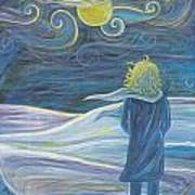 The Wind Art Print