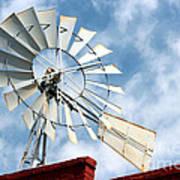 The Wind Wheel Art Print