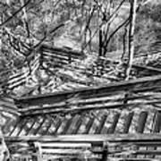 The Winding Stairs Art Print