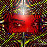 The Window To My Soul Art Print by Lewanda Laboy