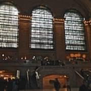 The Windows At Grand Central Terminal Art Print