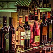 The Wine Shop Art Print
