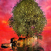 The Wishing Tree Two Of Two Print by Betsy Knapp