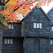 The Witch House Of Salem Art Print