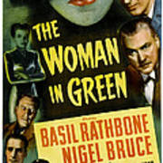 The Woman In Green, Us Poster Art, Left Art Print