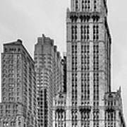 The Woolworth Downtown Art Print