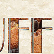 The Word Is Muffins Art Print