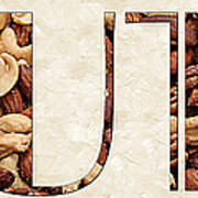 The Word Is Nuts Art Print