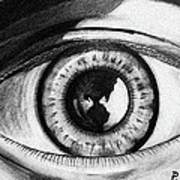 The World Is In The Eye Of The Beholder. Art Print