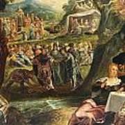 The Worship Of The Golden Calf Art Print