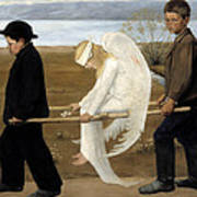 The Wounded Angel  Art Print