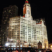 The Wrigley Building-chicago Art Print
