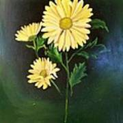 The Yellow Daisy Art Print