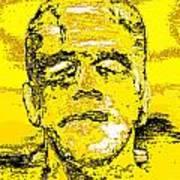 The Yellow Monster Art Print