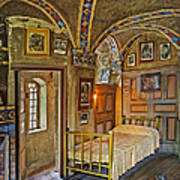 The Yellow Room At Fonthill Castle Art Print