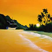 The Yellow Sea Art Print