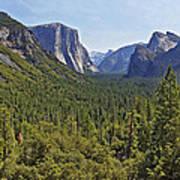 The Yosemite Valley Art Print