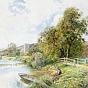 The Young Angler Art Print