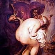 The Young Sorceress Art Print