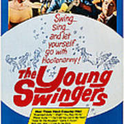 The Young Swingers, Us Poster Art, 1963 Art Print