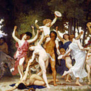 The Youth Of Bacchus Art Print