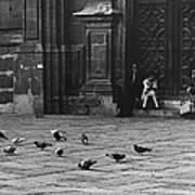 The Zocolo Mexico City Mexico 1970 Art Print