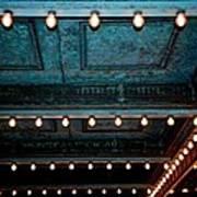 Theatre Lights Art Print
